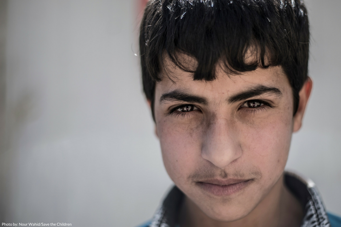 Rami*, a 13-year old Syrian refugee